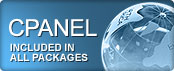 Cpanel Included in all packages